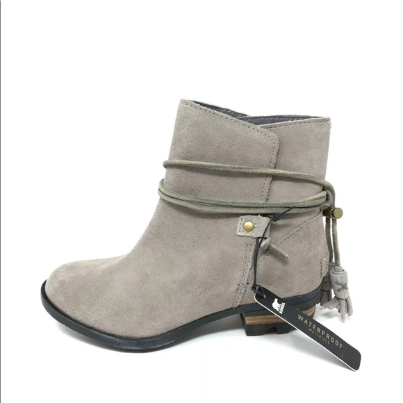 Suede Ankle Boots Tassels
